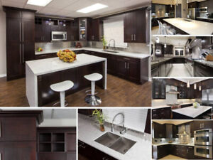 Maple solid wood Kitchen cabinets on SALE!!