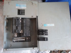 ITE Blue line Breakers and Panel