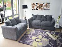 Brand New good Quality Jumbo code Dylan fabric sofa Set 3+2