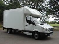 2010 MERCEDES SPRINTER 313 CDI LWB LUTON WITH TAIL LIFT + READY TO GO TO WORK !!