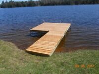 Docks for your cottage or trailer park