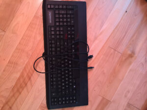 Clavier Keyboard SteelSeries APEX 350 pratiquement neuf