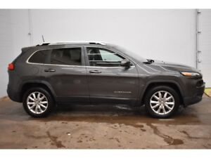 2016 Jeep Cherokee LIMITED 4X4 - LEATHER * BACKUP CAM * NAV