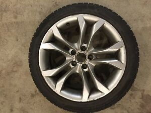 Audi Winter Rims and Tires - 225 45 R18