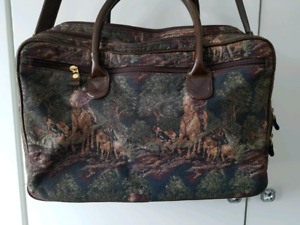 Unique Horse Motif Laptop Bag