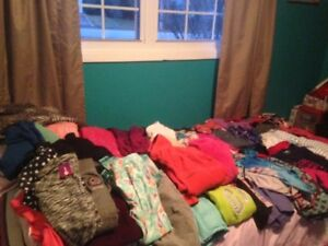Girls 7-8 clothing lot spring/summer brand names some NEW w tags