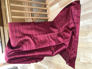 Curtain panels and cushion covers