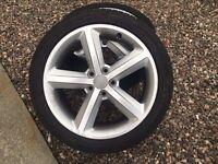 Audi a4 18 alloy wheels ronal sline