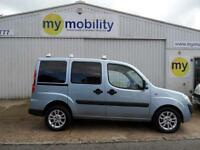 Fiat Doblo Dynamic 4 Seat Wheechair Disabled Adapted Access Car WAV