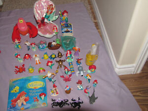 FOR SALE 2 LOTS OF LITTLE MERMAID TOYS