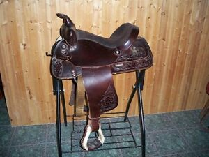 15 inch Western Rawhide pleasure saddle