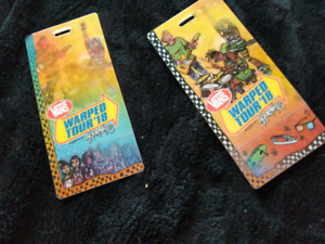Two general admission Warped Tour tickets