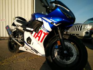 Yamaha R6 only 17000km