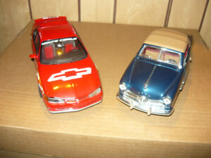 $20 for both 1:18 die cast overall great shape but missing parts