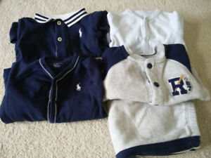 Polo Ralph Lauren Baby PJs + Fleece Active Outfit