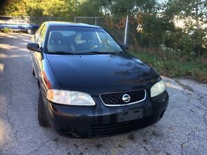 2004 Sentra as is