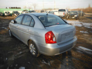 2007 ACCENT. JUST IN FOR PARTS AT PIC N SAVE! WELLAND