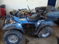 1995 SUZUKI KING QUAD 300 4WD PARTING OUT NOT SELLING WHOLE