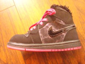 Retro Air Jordans, Timberlands - toddler sizes