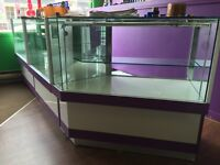 Display cases for quick sale