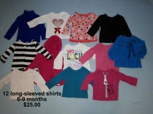 Baby Girl Clothes - Sizes 6-9 & 6-12 Months