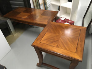 Coffee table and corner tables