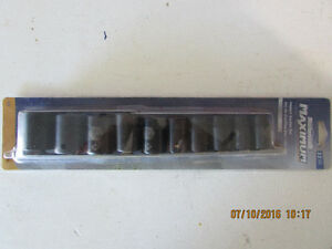 "Impact Socket Set  1/2 "" Drive"