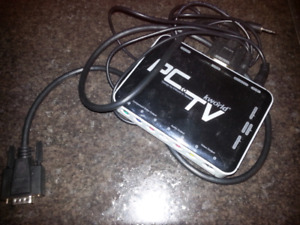 PC to TV conversion box