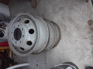 Rims steel Ford econoline three only