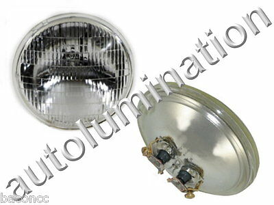 New 4415 Clear 12 Volt Par36 Sealed Beam Bulb Headlight Tractor 4-12 12.8v 35w