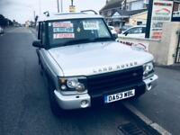 Land Rover Discovery 2.5Td5 ( 7st ) 2003 Diesel Manual F/H 7 Seater FSH 1 Owner