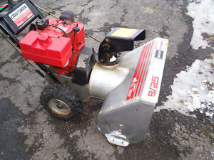 Snowblower Tune-ups Only 40.00 Oil Included
