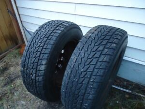 2  18 IN.WIINTER tires