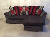 2 & 3 Seater Fabric Sofa