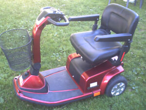 This scooter is still new condition plus warranty for batteries