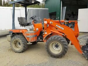 1998 R52 Kubota ex farm machine,3600 hrs