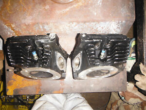 STD HIGH PERFORMANCE HEADS WITH DECOMPRESSION PLUGS