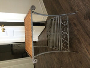 Pier one side table.