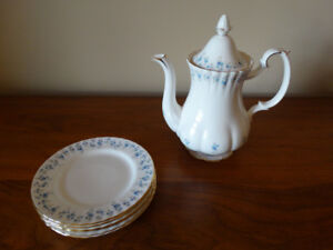 Royal Albert Memory Lane Coffee Pot Set & extra pieces available