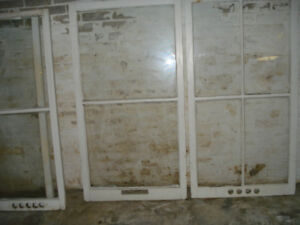Old vintage antique windows for DIY Arts& creative home Projects