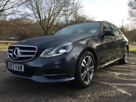 2013 63 Mercedes-Benz E220 2.1CDI AUTO 7G-Tronic Plus CDI SE**FSH**£30 TAX