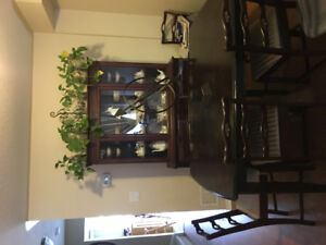 Dining Room Table - 6 chairs & Buffet & Hutch