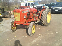 DAVID BROWN 880 TRACTOR -GOOD HYDRAULICS   42 hp NO LOADER $2750