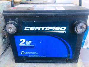 Motormaster Certified Battery.  Only $50!!!