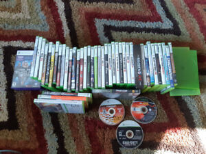 xbox 360 games + 3 kinect games