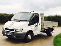 FORD TRANSIT 90 T350 (2004 MODEL) 'LWB - DROPSIDE' (FULL HISTORY FROM NEW)