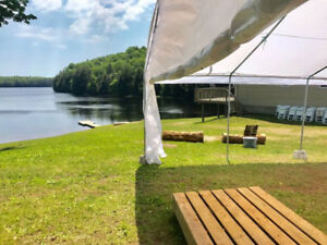 RENT OUR TENT! Get your outdoor event COVERED! Book now