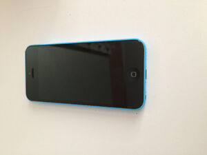 iPhone 5c bleu 8g