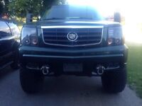 "2002 Cadillac Escalade *rare find* 10"" lifted on 37's"