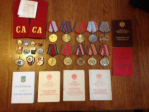 Soviet Military Collectables